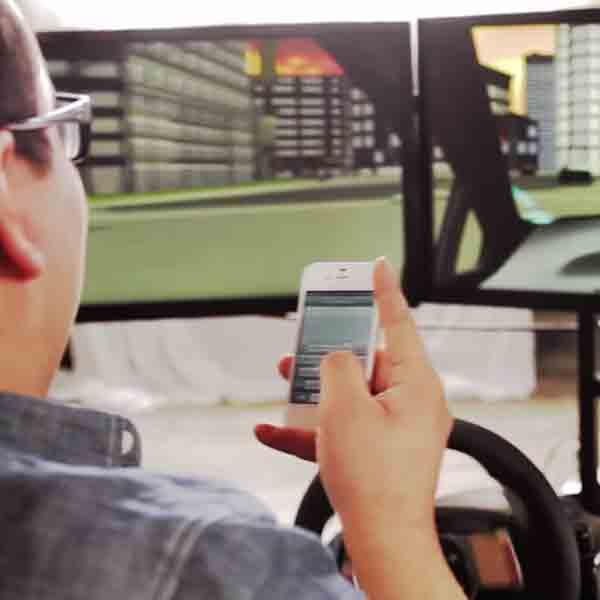 Tesxting and Driving Simulator