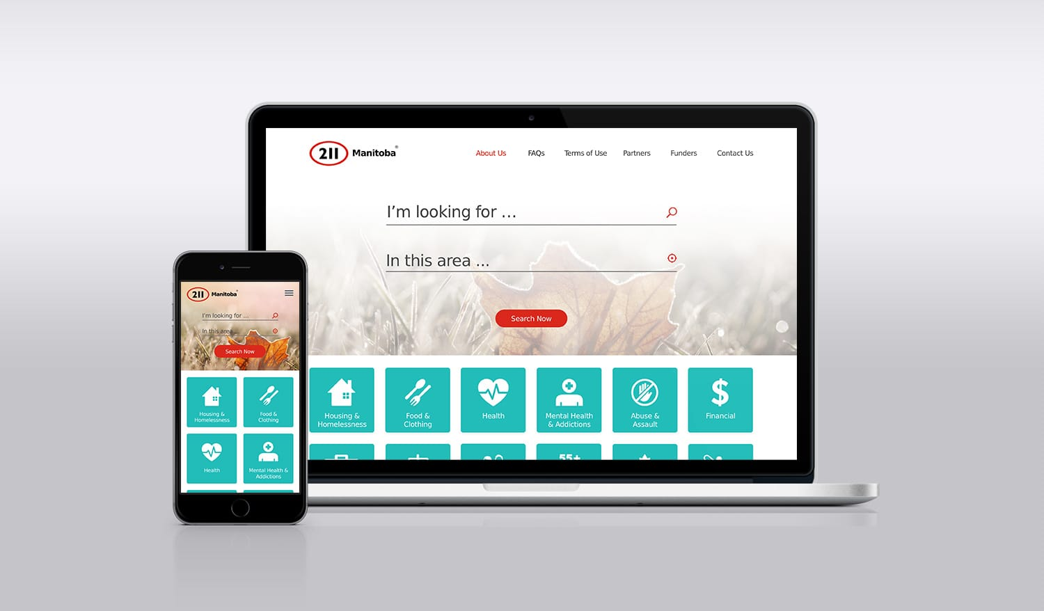 211 Responsive Web App Search